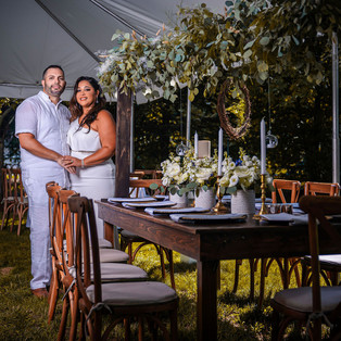 Romantic Rustic Intimate Wedding