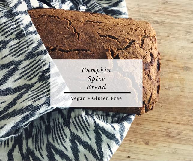 Pumpkin Spice Bread - Vegan + Gluten Free