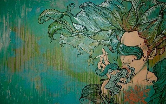 Spilling/Spinning – Artwork by Brandon Boyd