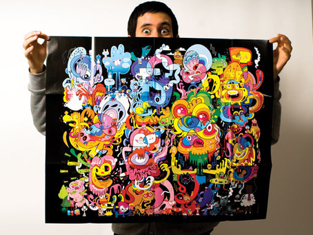 Jon Burgerman – Master Doodler why you don't need lots of cash or fancy resources to be successful