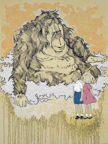 Orangutan – Artwork by Brandon Boyd