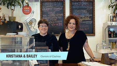 Kristiana Mallo and Bailey Cole