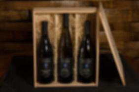 Wood box wine
