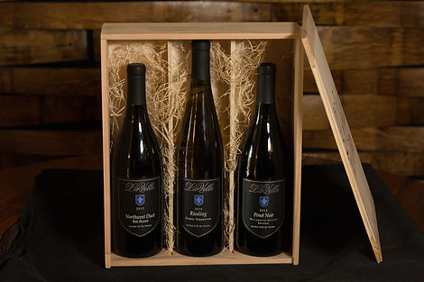 Wood box wine
