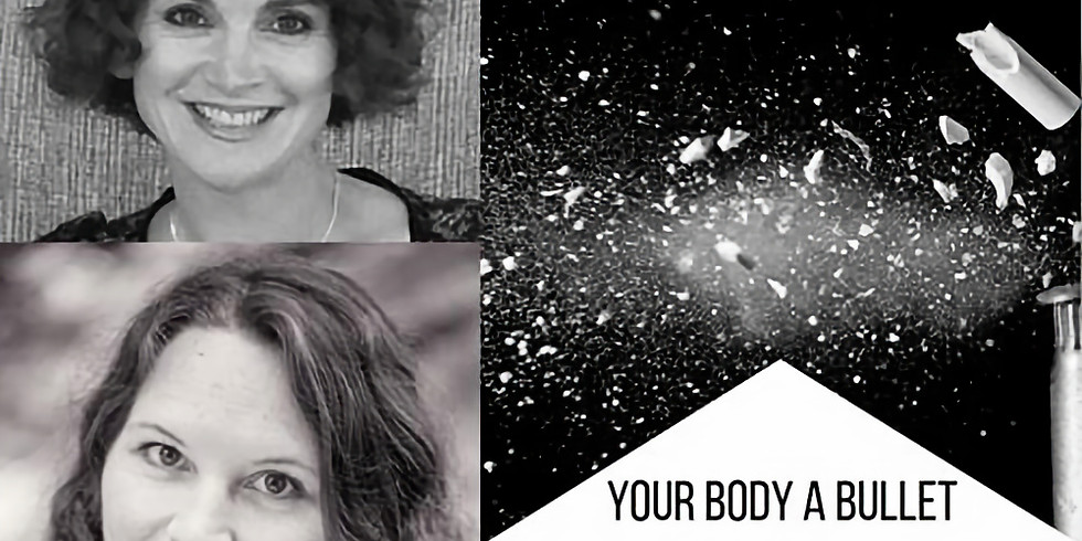 Your Body A Bullet book signing