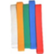 Taekwon-Do Colour belts