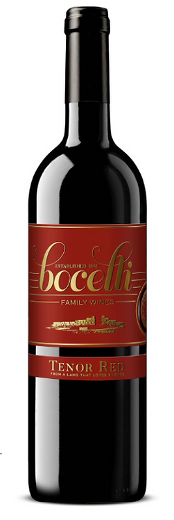 Bocelli Tenor Red 2017 Super Tuscan [Tuscany, Italy]