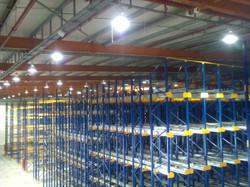 פרוייקט תאורה במחסן