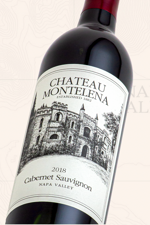 Château Montelena Winery, Cabernet Sauvignon, Napa Valley (2018)
