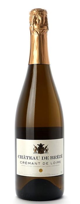 Brézé Crémant Blanc NV [Loire, France]