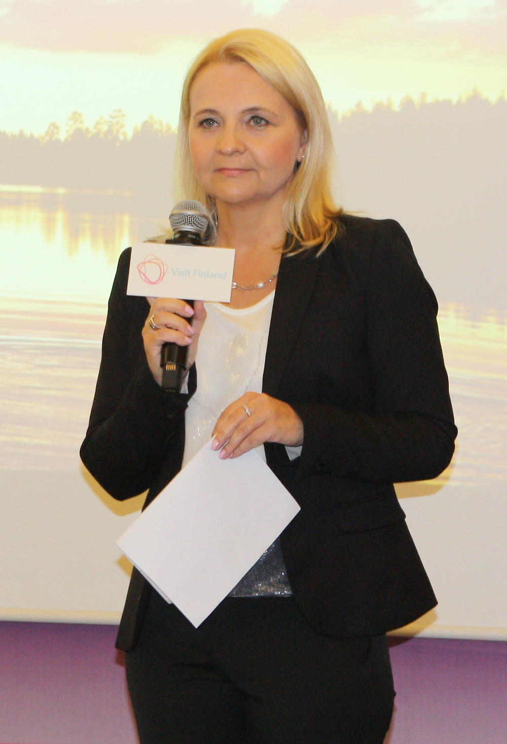 Heli Mende, head of Visit Finland for North America