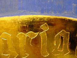 Gold background particular