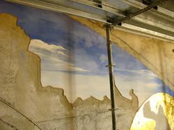 Daily caesura on wall