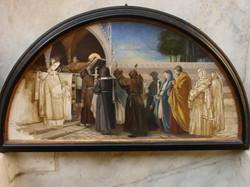 Preparatory sketch for fresco