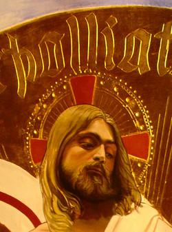 Fresco particular: the Christ