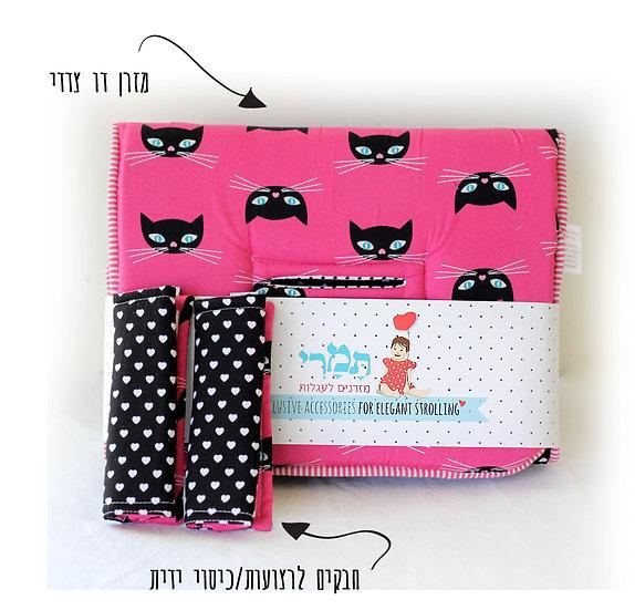מזרן וידיות/חבקים דגם מיאו חתולה