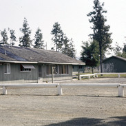 Messhall and old barracks at Cave Junction, OR