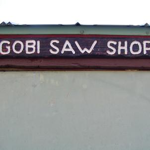 Gobi sign at NCSB