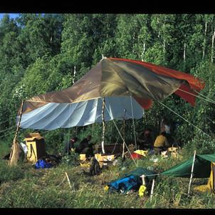 AK fire camp Mucha L. AK