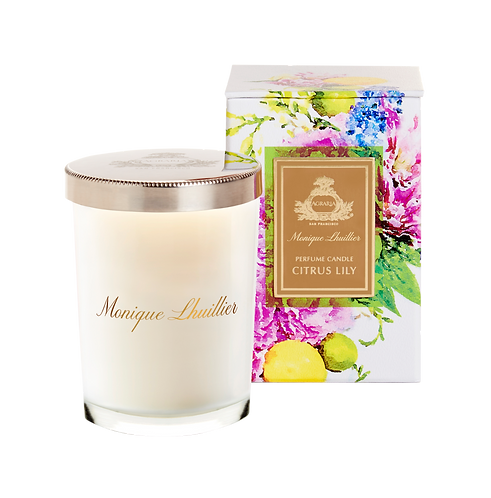 Agraria Scented Candle Monique Lhuillier Citrus Lily 7oz.