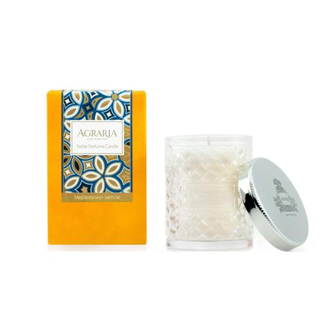 Agraria Petite Crystal Candle 3.4 oz. Mediterranean Jasmine