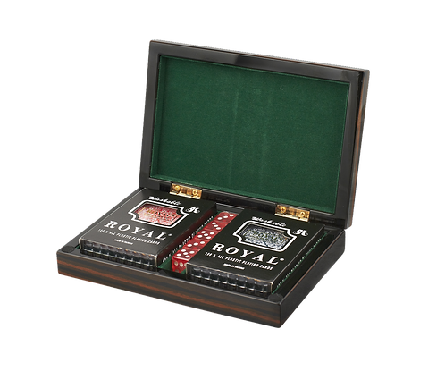 Tizo Lacquered Wood Card Set