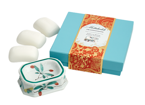 Famille Vert Heirsavonare Gift Soap Set