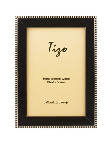 "Tizo 1/2"" Inlayed Lacquered Wood Frame"