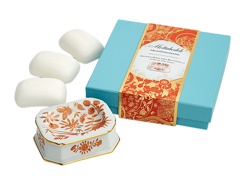 Sacred Bird & Butterfly Hairsavonare Gift Soap Set
