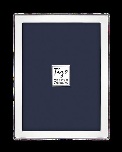 """Tizo 925 Sterling Silver Frame 1/2"""" Plain"""