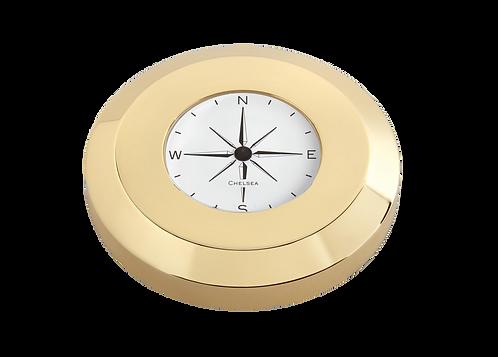 Chart Paperweight Compass in Brass