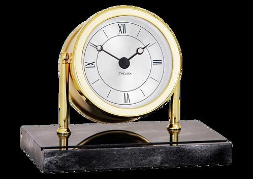 Chatham Clock on Black Marble Base