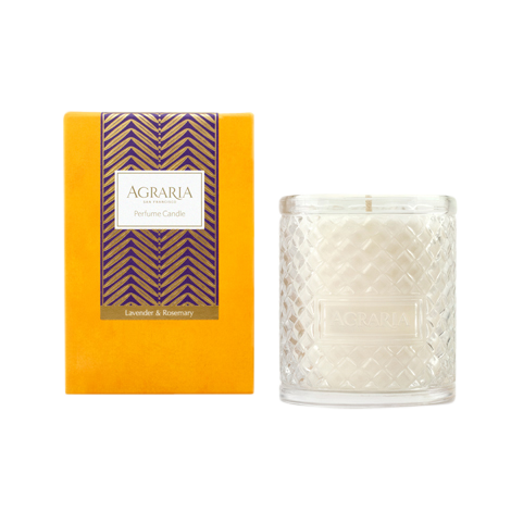 Agraria Crystal Candle 7oz. Lavender Rosemary