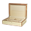 Thumbnail: Tizo Polished Lacquer Jewelry Box Blond Wood