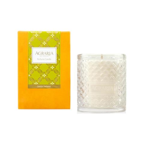 Agraria Crystal Candle 7oz. Lemon Verbena