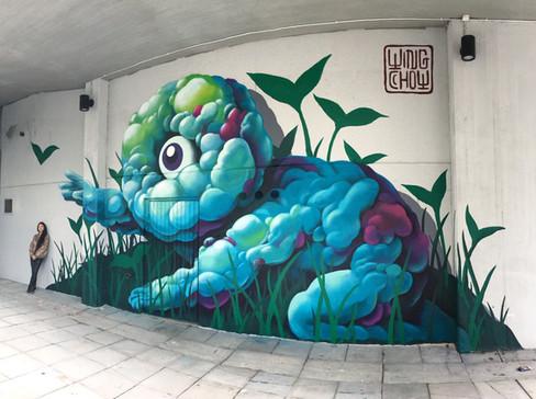 Helsinki Urban Art, Pasila, Helsinki, Finland, 2017
