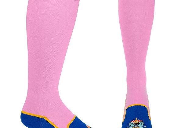 Heraldic Albert Slipper Sock