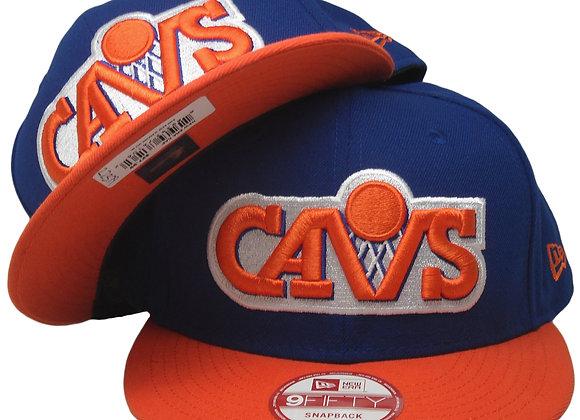 Clevland Cavaliers XL Logo New Era Snapback