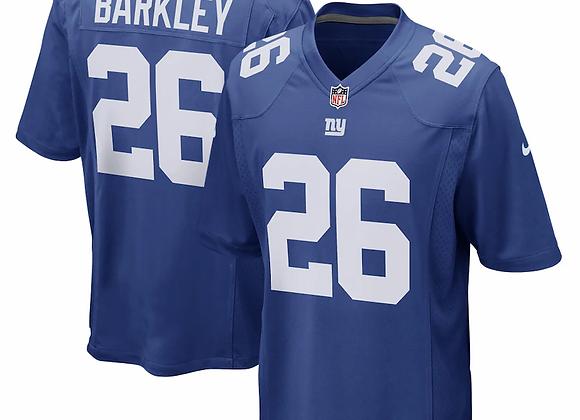 Men's New York Giants Saquon Barkley Nike Royal Game Jersey
