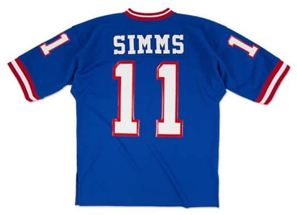 Phil Simms 1986 Authentic Jersey New York Giants