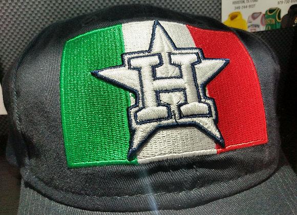 MEXICO FLAG HOUSTON ASTROS MLB NEW ERA BASEBALL CAP