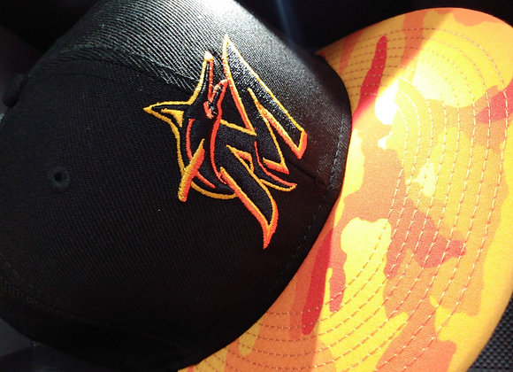 Florida Marlins Fire Cammo SnapBack