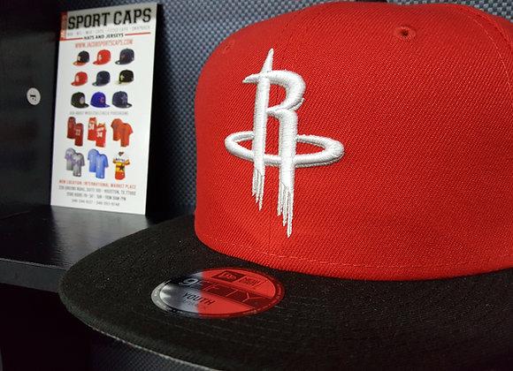 YOUTH SIZE HOUSTON ROCKETS NEW ERA CAP