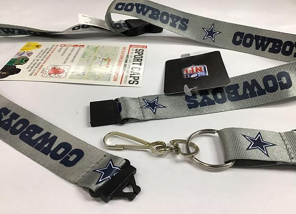 NFL Dallas Cowboys Lanyard / Key Chain
