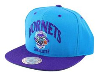 Grand Arch Charlotte Hornets Mitchel & Ness Snapback