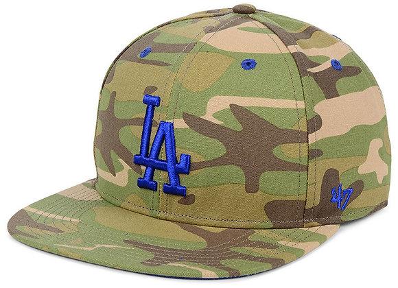 Los Angeles Dodgers Blockade Strapback Cap