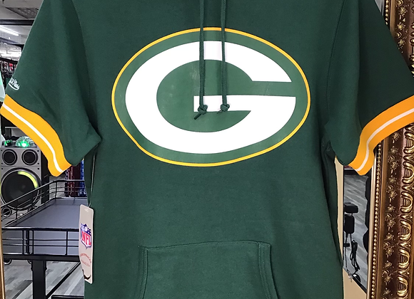 $59.99 Mitchell & Ness Green Bay Packers French Terry SS Hoodie