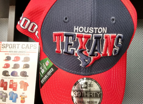 NFL HOUSTON TEXANS ON FIELD ESTABLISHED COLLECTION SMALL-MEDIUM CAP