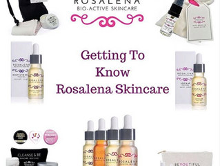 Getting to know Rosalena Skincare with Helena Chapman
