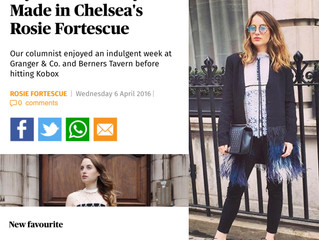 Rosalena in Evening Standard, Life & Style